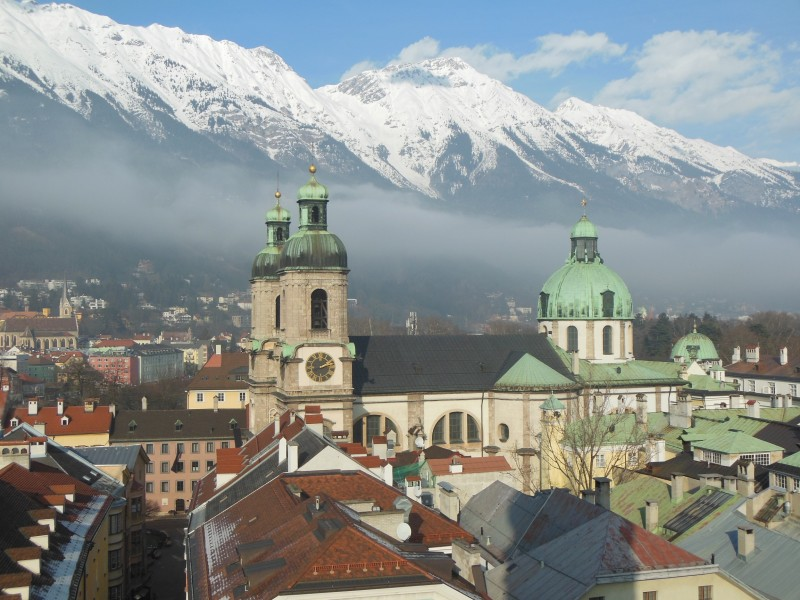 Ausblick vom Stadtturm Innsbruck