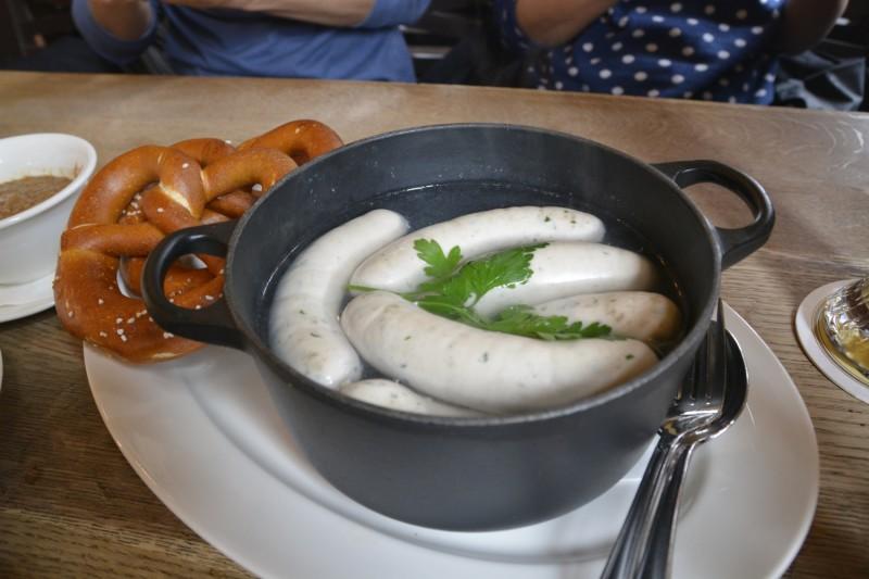 Weißwurstfrühstück in München mit Steffi und Stefan :)
