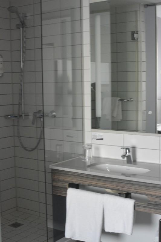 Blick ins Bad im Acomhotel Nürnberg