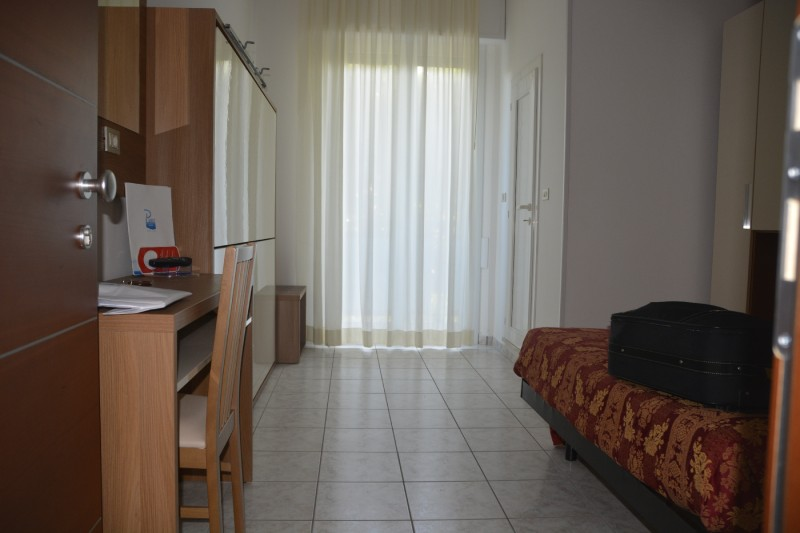 Mein erstes Zimmer im Stacchini (Cesenatico)