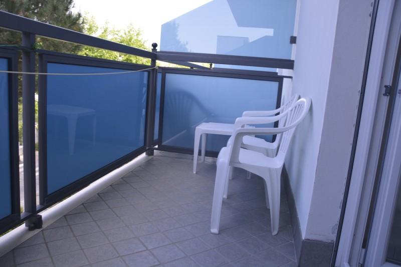 Balkon im Hotel Stacchini Cesenatico