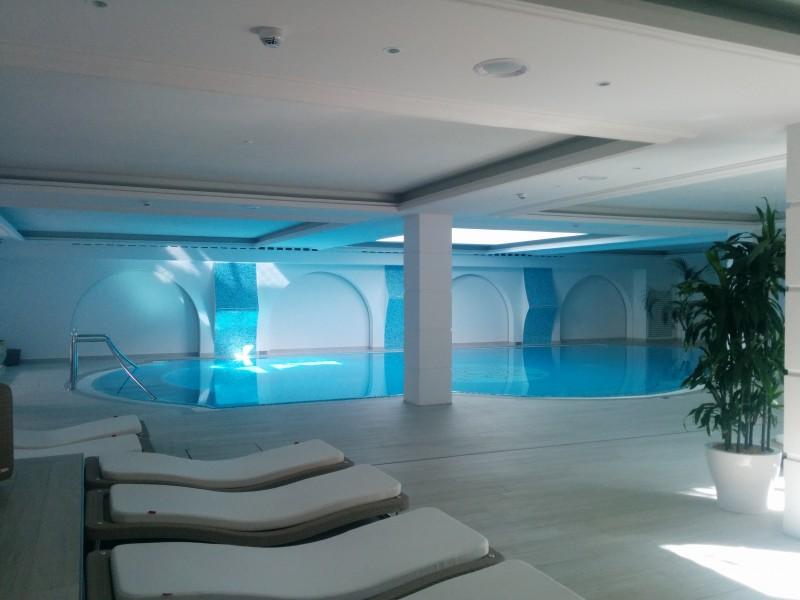 SPA Bereich im Grand Hotel Da Vinci Cesenatico