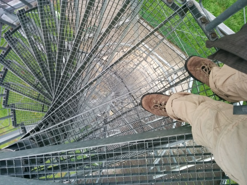 Auf dem Hedwigturm