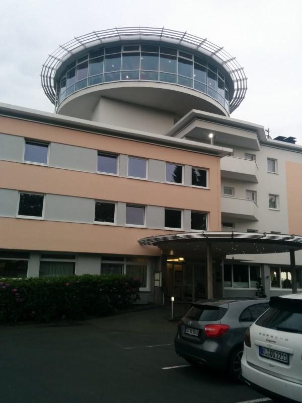 Wildpark Hotel Bad Marienberg von hinten