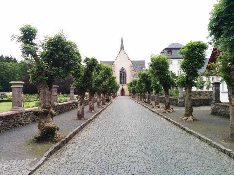 Westerwaldsteig Etappe 9: Klosterkirche Marienstatt