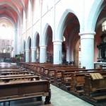 Westerwldsteig Etappe 9: Blick in die Klosterkirche Marienstatt