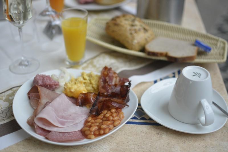 Mein Frühstücksteller im WIldpark Hotel Bad Marienberg