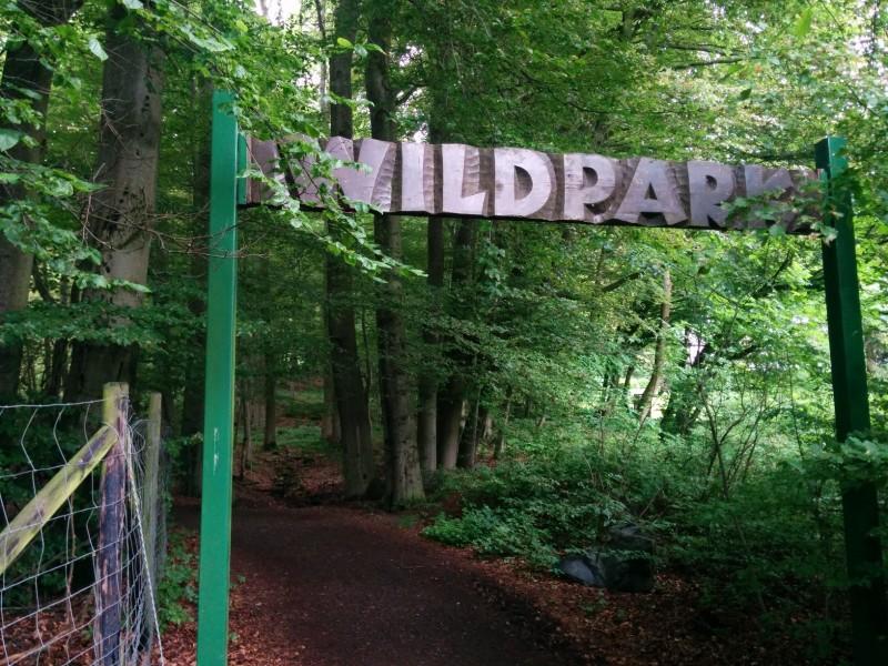 Eingang Wildpark von Bad Marienberg her kommend