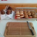 Brot beim Frühstücksbufett im Hotel Höldrichsmühle / HInterbrühl