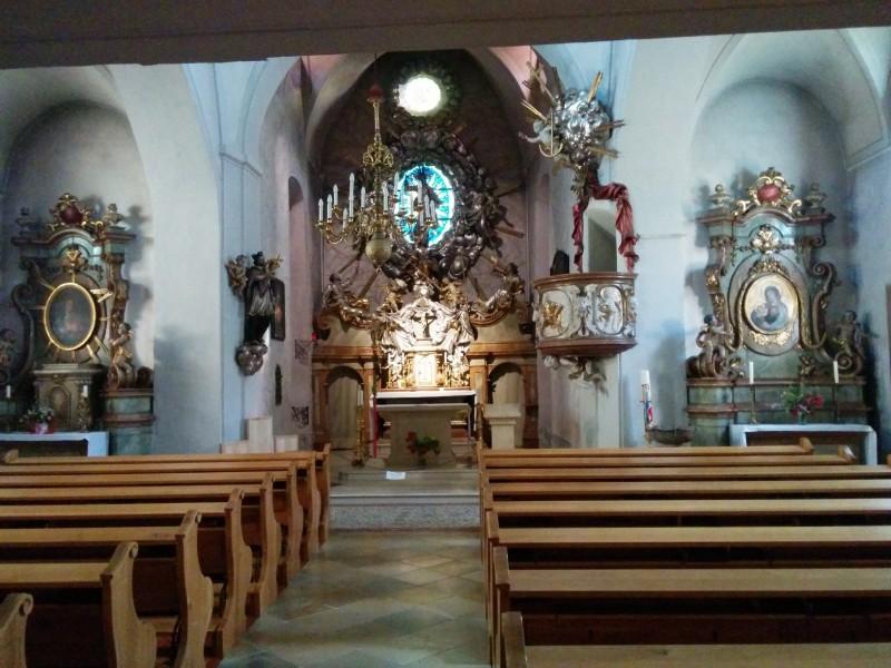 Pfarrkirche St. Jakob in Gaaden - unbedingt zu besichtigen auf der Via Sacra