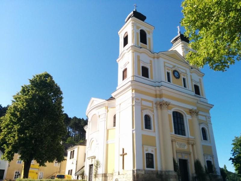 """Wallfahrtskirche """"Unserer lieben Frau"""" in Hafnerberg auf der Via Sacra"""