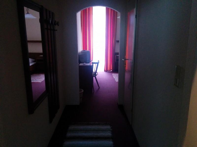 1. Blick ins Zimmer des Gasthofs Meyer in annaberg