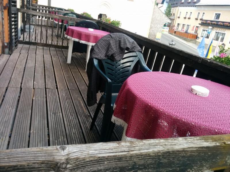 Balkon im Gasthof Meyer / Annaberg