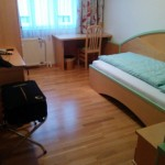 Mein Einzelzimmer im Kirchenwirt Mariazell beim Pilgern auf der Via Sacra