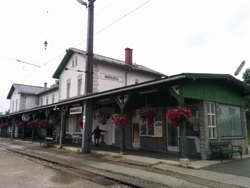Bahnhof in Mariazell