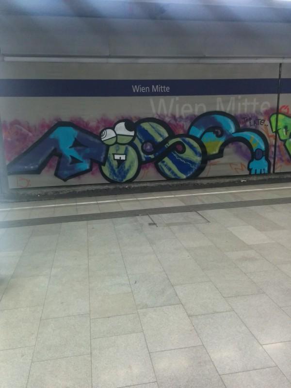 Streetart im Westbahnhof