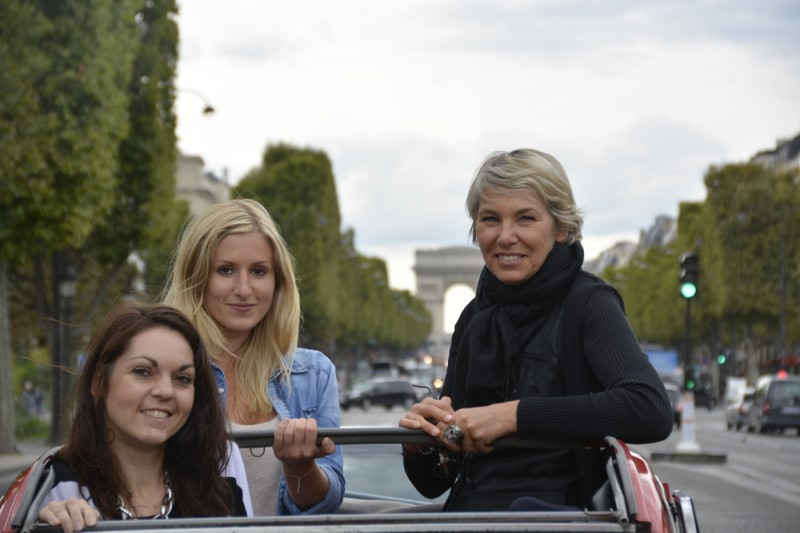 Nicole, Denise und Catherine