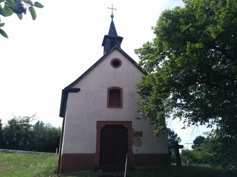 Laurentiuskapelle kurz nach Tauberbischofsheim