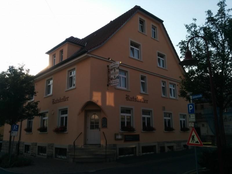 Hotel Ratskeller Lauda von außen