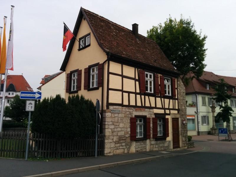 Torwärterhaus am Mühlwehrtor in Bad Merhgentheim