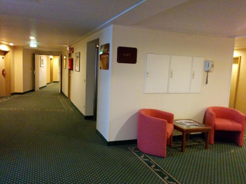 Gang im Hotel Mercure Saarbrücken City