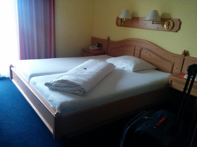 Mein Bett im Gästehaus Steger kaprun