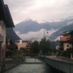 Kitzsteinhorn und Nebel von Kaprun aus