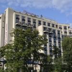 Hotel Mercure Saarbrücken City von der Saar aus