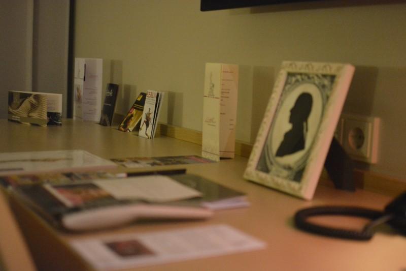 Schreibtischfläche