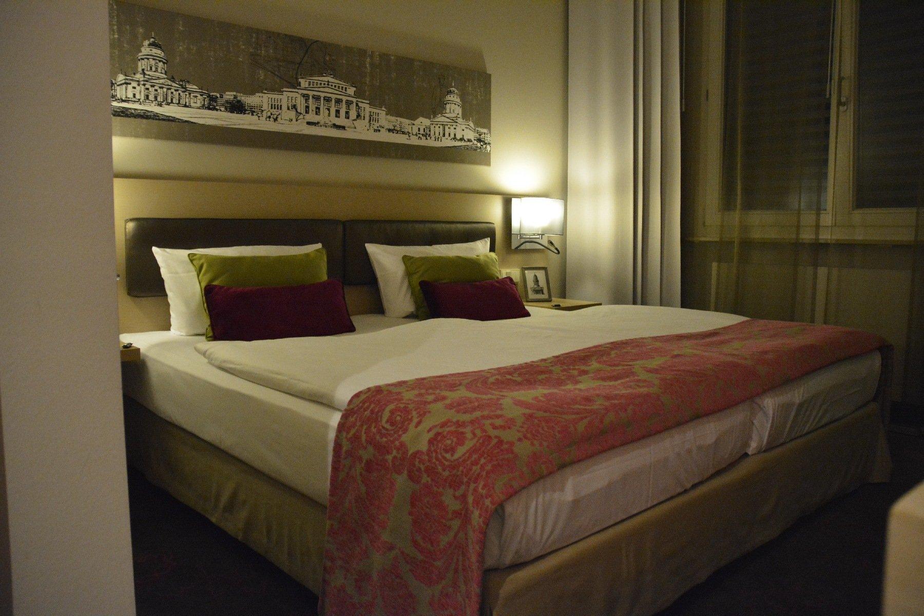 Bett im Hotel Gendarm nouveau