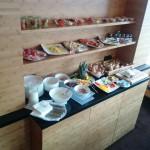 Frühstück in der Panoramalounge des Hotels Gendarm nouveau Berlin