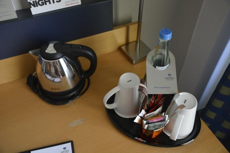 Wasserkocher und Tee...