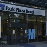 Eingang des Park Plaza Prenzlauer Berg Berlin