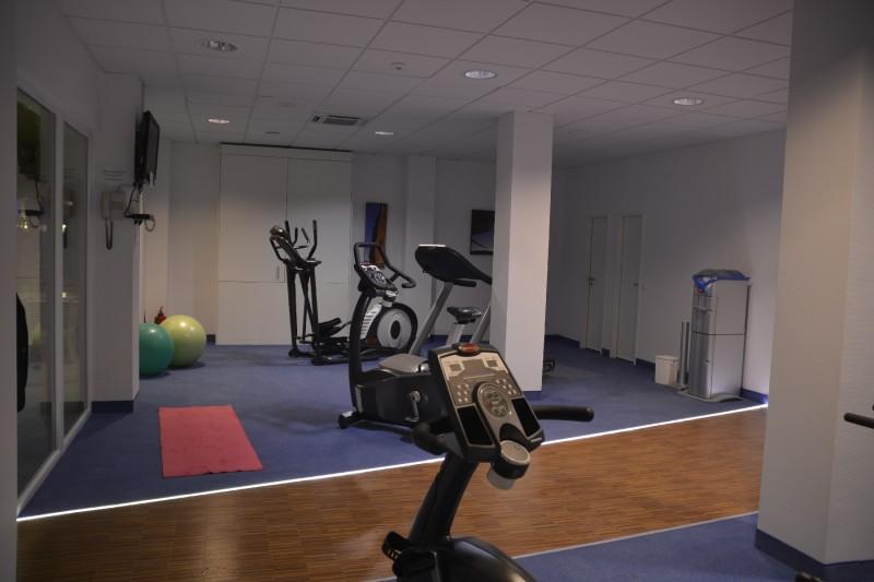 Fitnessraum im Radisson Blu Karlsruhe