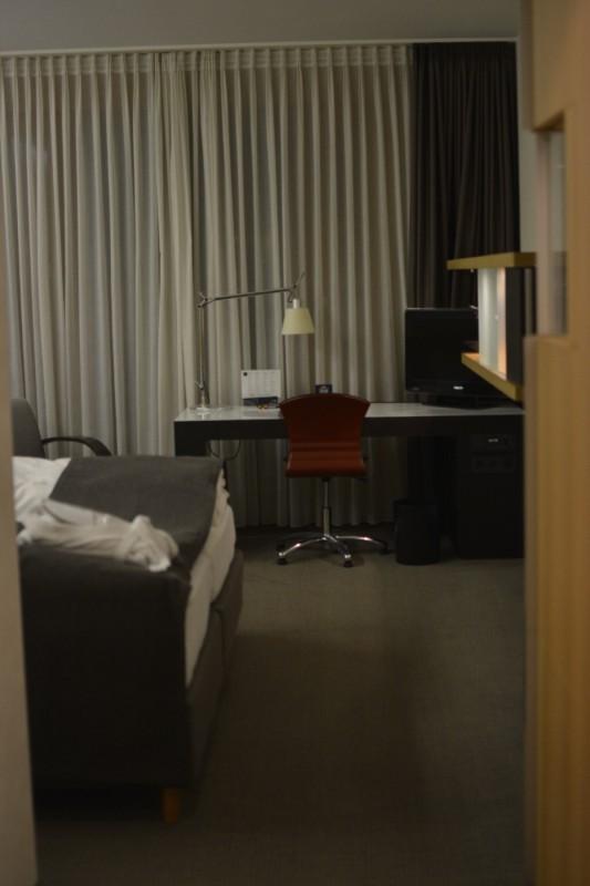 Der erste Blick ins das Executive Zimmer des Novotel Karlsruhe