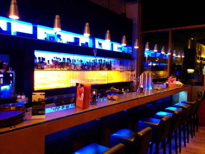 Die Bar des Hotels Novotel Karlsruhe