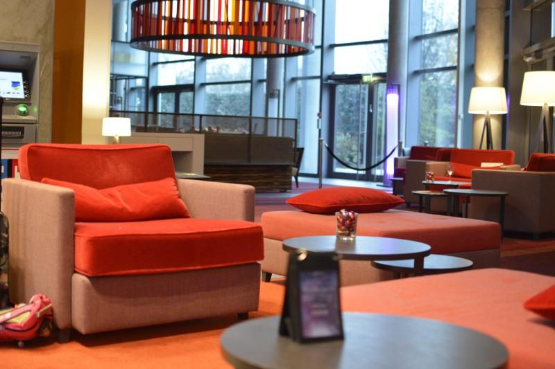 Lounge im Radisson Blu Frankfurt