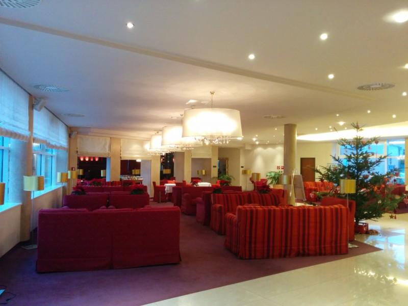 Lobby im Hotel Werzer's in Pörtschach am Wörthersee