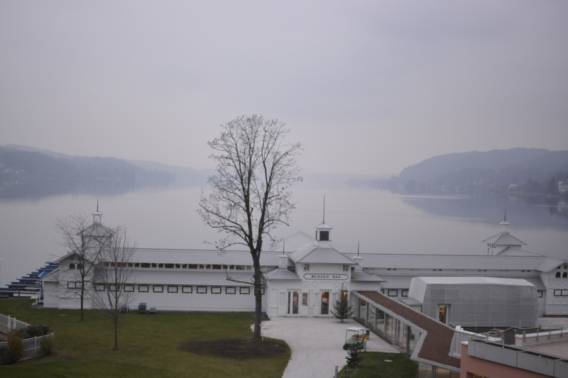 Das historische Badehaus des Werzer's Hotel Resort Pörtschach am Wörthersee