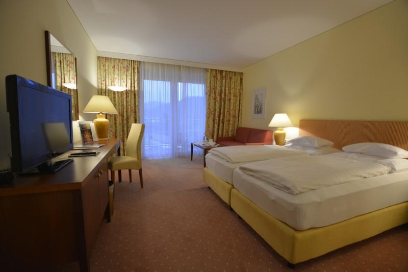 Mein Zimmer 306 im Hotel Werzer's in Pörtschach am Wörthersee