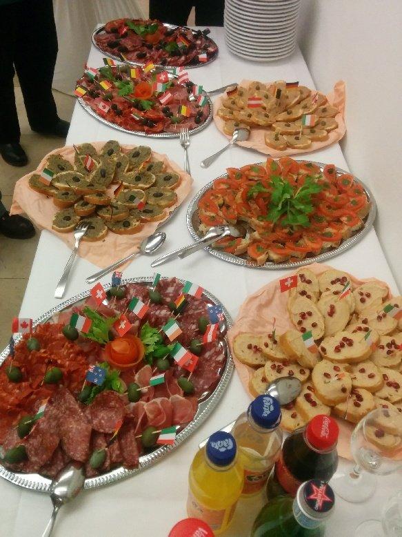 leckeres Essen aus der italienischen Region Umbrien