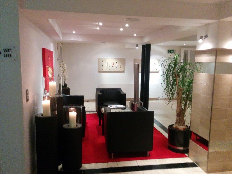 Lobby im Hotel Germania Bregenz