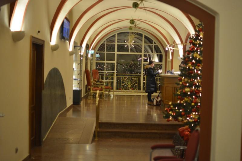 Lobby des Hotel am Mirabellplatz Salzburg