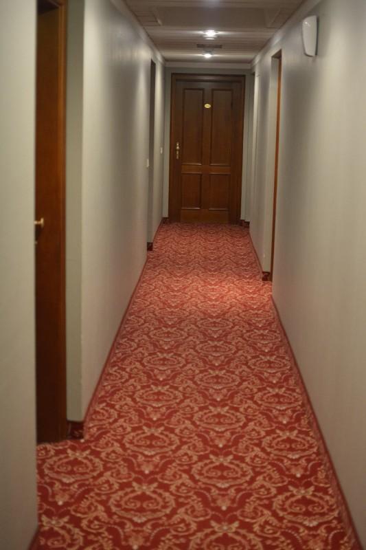 Der Gang zu meinem Zimmer im Hotel am Mirabellplatz Salzburg