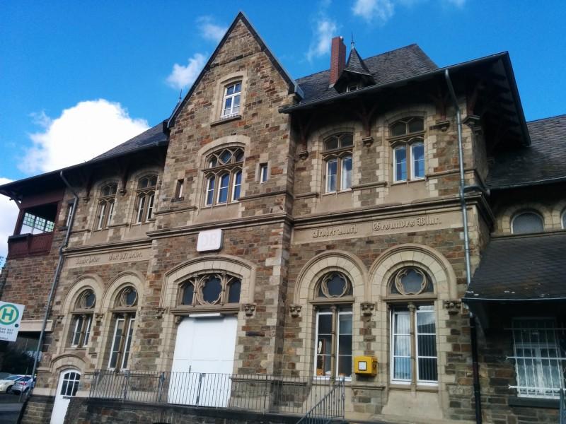 Bahnhofsgebäude von Bad Neuenahr