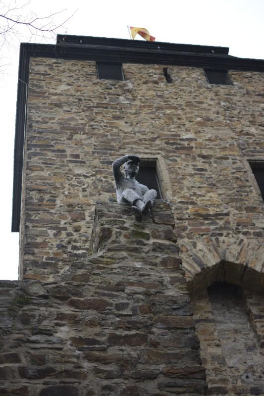 Mauerspäher über dem Niedertor in Ahrweiler
