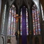 Kirchenfenster der Laurentiuskirche Ahrweiler
