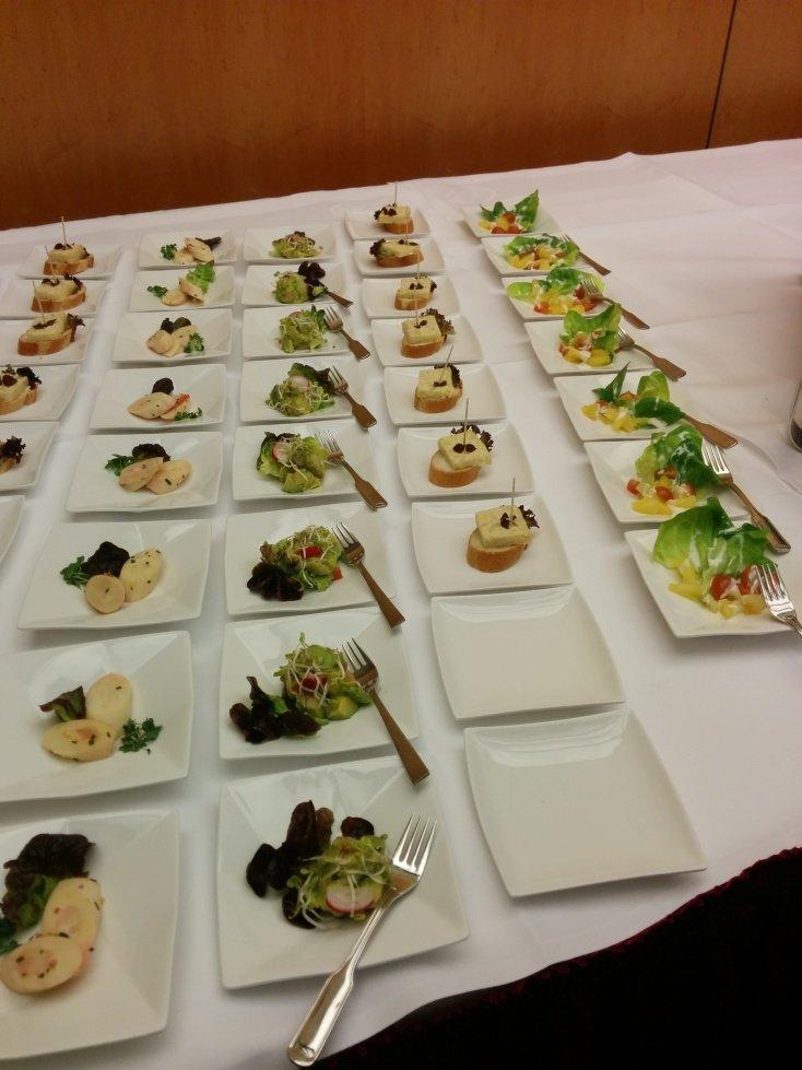 Leckeres Essen beim BLoggerbrunch von Condor, Thomas Cook und Brasilien auf der ITB 2015