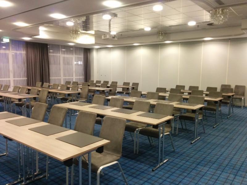 Einer der Konferenzräume im Radisson Blu Bremen