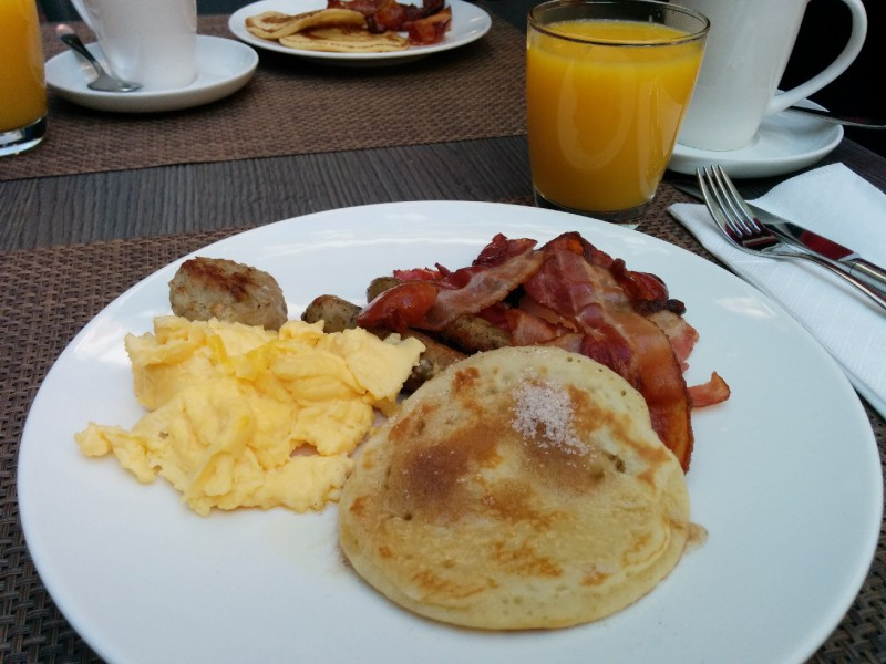 PANCAKES zum Frühstück...